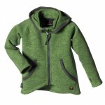 ISBJ�RN of Sweden Rib Sweater Hood / Kinder Fleecejacke