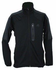 Adidas Terrex Swift Fleece Jacket black/dark shale - Größe 56 Herren
