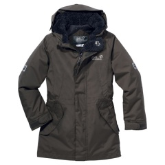 Jack Wolfskin Girls 5Th Avenue granite - Größe 116 Kinder 1600252