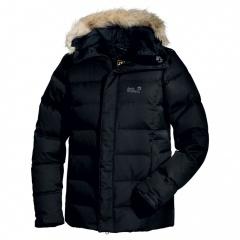 Jack Wolfskin Baffin Jacket Men black - Größe XL 1200791