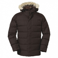 Jack Wolfskin Baffin Jacket Men truffle brown - Größe M 1200791
