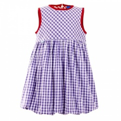 Finkid Hattara purple bigcheck - Größe 80/90 Kinder