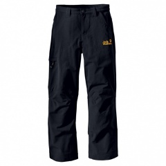 Jack Wolfskin Kids Activate Pants black - Größe 164 Kinder