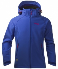 Bergans Vennesla Youth Girl Jacket warm cobalt/hot pink - Größe 164 Kinder