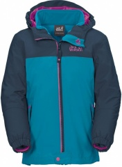 Jack Wolfskin Girls Iceland 3in1