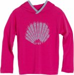 Icebreaker Tech LS Hood Sunrise Kids