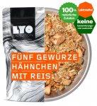 Lyo Food Fünf Gewürze Hähnchen mit Reis