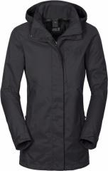 Jack Wolfskin Mellow Range Flex Jacket Women phantom - Größe XL 1107131