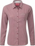 Craghoppers NosiLife Womens Olivie Long-Sleeved Shirt