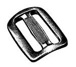 National Molding three-web buckle