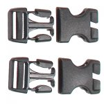 Ortlieb Stealth-Schnallen für Rack-Pack 25 mm